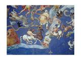 Astrological Ceiling, in the Sala Del Mappamondo Giclee Print by Giovanni De' Vecchi