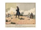 Battle of Kunersdorf Giclee Print by Richard Knoetel