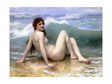 The Wave, 1896 Giclee Print by William Adolphe Bouguereau