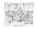 The Count Palatine Herrmann of Staleck Giclee Print by Alfred Rethel