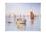 Concarneau, Quiet Morning, 1891 Reproduction procédé giclée par Paul Signac