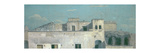 Rooftops in Naples, 18th Century Giclée-tryk af Thomas Jones