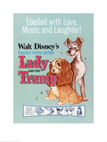 Lady and The Tramp - Love, Music and Laughter Print