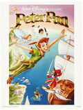 Peter Pan - Flying Lámina maestra