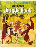 The Jungle Book - Jumpin' Masterprint