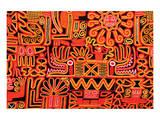 Inca Design Pattern Lámina