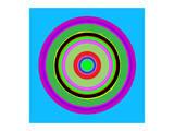 Phantasy Photon Kunstdrucke von Rachel Travis