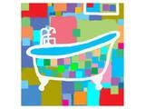 Colorful Bath I Prints by  Yashna