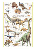Dinosaurs, Jurassic Period Prints