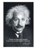 Einstein Curiosity Affiches