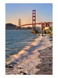 San Francisco Bay and Golden Gate Bridge, San Francisco, California, USA Posters