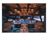 Columbia Space Shuttle Cockpit Kunstdrucke