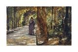 Date in Portici Forest, 1864 Reproduction procédé giclée par Giuseppe De Nittis