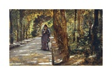 Date in Portici Forest, 1864 Giclee Print by Giuseppe De Nittis