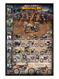 Motocross MX The Modern Era 1970 - present Prints