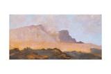 Fumarole of Mount Vesuvius, Circa 1871 Reproduction procédé giclée par Giuseppe De Nittis