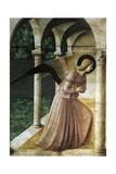Annonciation Reproduction procédé giclée par Giovanni Da Fiesole