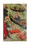 Christ Saves St Peter, 1411-1413 Impressão giclée por Luis Borrassa
