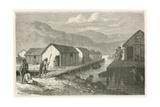Un Village Lacustre De La Suisse a L'Epoque Du Bronze Giclée-vedos tekijänä Emile Antoine Bayard