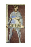 Portrait of Filippo De Scolari, Circa 1451 Giclée-tryk af Andrea Del Castagno