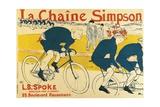 Poster for Catene Simpson, 1896 Lámina giclée por Henri de Toulouse-Lautrec