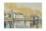 Richmondtown Pond, Richmondtown, Staten Island, 1995 Reproduction procédé giclée par Anthony Butera