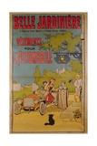 Poster Advertising 'La Belle Jardiniere' Department Store, 1922 Giclee Print by Benjamin Rabier
