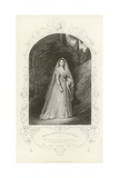Miss Cooper as Helena, a Midsummer Night's Dream, Act II, Scene III Giclee Print by Joseph Kenny Meadows