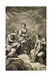 Allegory from Code of Music Practice Giclee Print by Jean-Philippe Rameau