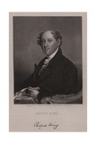 Rufus King, American Lawyer, Politician and Diplomat Giclee Print by Gilbert Stuart