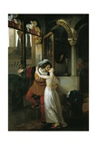 The Last Kiss of Romeo and Juliet, 1823 Giclee Print by Francesco Hayez