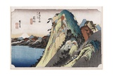 The Lake at Hakone, from 'Fifty-Three Stations of the Tokaido' Giclee Print by Ando Hiroshige