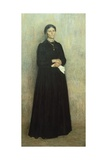 Portrait of His Mother, 1890 Giclee Print by Giuseppe Pellizza da Volpedo