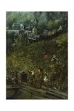 Autumn Harvest Landscape Giclée-Druck von Lucas van Valkenborch