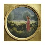Loving Walk, 1901-1902 Giclee Print by Giuseppe Pellizza da Volpedo