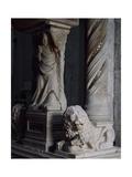 Detail of Tomb of Catherine of Austria, 1323 Ca Giclée-Druck von Tino da Camaino