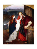 Mary Magdelene Giving News of the Resurrection to the Disciples, 1860 Giclee Print by Philip Hermogenes Calderon