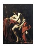 St John the Baptist Giclée-tryk af  Caravaggio