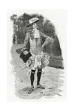 Lord David Dirry-Moir - Illustration from L'Homme Qui Rit, 19th Century Giclee Print by Georges Marie Rochegrosse
