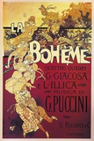 Poster for La Boheme, Opera by Giacomo Puccini, 1895 Impressão giclée