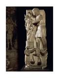 Sculpture Representing Month of September Giclée-Druck von Benedetto Antelami