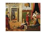 Nativity of Virgin, 1504-1508 Giclée-tryk af Vittore Carpaccio