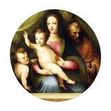 The Holy Family with the Infant Saint John the Baptist Giclee Print by Domenico Beccafumi