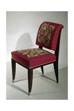 Art Deco Style Chair, Ca 1925 Gicléetryck av Jacques-emile Ruhlmann
