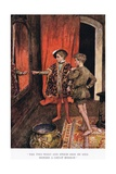 The Two Went and Stood Side by Side before a Great Mirror', 1923 Giclee Print by Arthur C. Michael