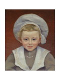 Portrait of Marcel in a Sailor Suit, February 1901 Giclee Print by Jules Ernest Renoux