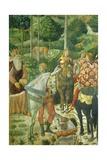 The Cavalcade of the Magi, 1459 Giclée-tryk af Benozzo Gozzoli