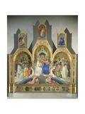 Coronation of the Virgin, 1414 Giclée-Druck von Lorenzo Monaco