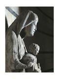 Madonna with Child, 1278-1284 Giclée-tryk af Giovanni Pisano