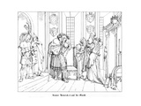 Hammerstein, the Asylum of Emperor Henry IV Giclee Print by Alfred Rethel